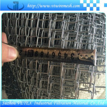 Clôture de maillon de chaîne utilisée en agriculture