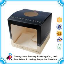 Benutzerdefinierte einzigartige Nizza Die Cut Großhandelsmasse Matte Black Box