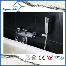 Waterfall Bath Wall Mount Shower Mixer Faucet