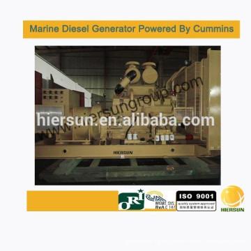 Desarrollado por Cummins 800KW / 1000KVA Generador diesel marino