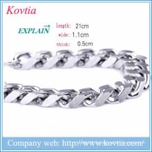 Noël 2015 bracelet homme bracelet en métal bijoux bracelet fermoir magnétique