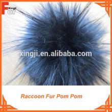 Colores mezclados / Para sombreros / Piel de mapache Nivel de calidad Pom Pom: con pieles.