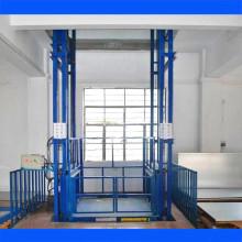 Almacén Plataforma elevadora de material vertical / Carril guía Elevación de carga