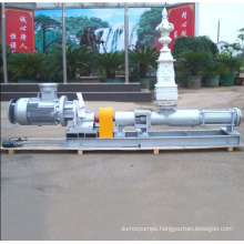Hot Sell with Motor G Singe Screw Pump