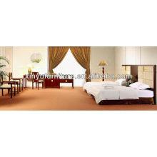 Habitación de hotel de madera de lujo establece XY2929