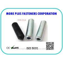 DIN914 ISO4027 con punta cónica Pernos hexagonales
