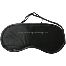 Comfortable black eye mask for sleep
