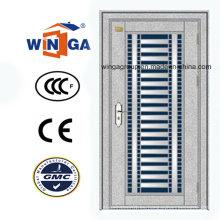 Puerta exterior de la seguridad del acero inoxidable del mercado de Oriente Medio (W-GH-15)