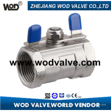 1 PC Ball Valve with Butterfly Handle