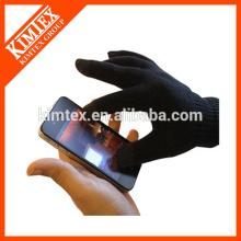 Mode Acryl iphone Touch Handschuhe