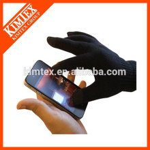 Fashion acrylic iphone touch gloves