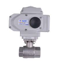 Klqd Brand Stainless Steel Electrical Actuated 2PC Ball Valve
