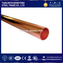 Tubo de aço revestido de cobre Trade Assurance, tubo de cobre de pequeno diâmetro