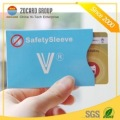 New Design Card Holder Waterproof Card Sleeve with Paper