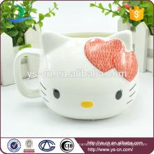 Atacado Red Olá Kitty Cerâmica copo criativo
