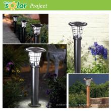 Vendeur chaud solaire led lumière, lampe de jardin solaire, lampes solaires jardins