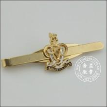 Clip de lazo de oro con la insignia, Stickpin personalizado (GZHY-TC-006)