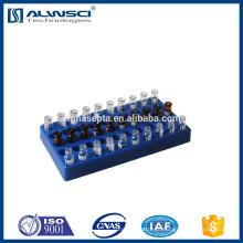 Blue 50 posição Vial Rack para 1.5 ml frascos hplc