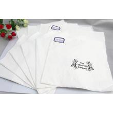 Serviette en papier blanc Fsc