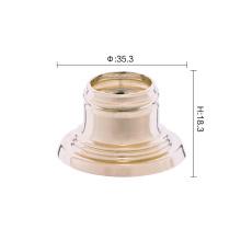 Guter magnetischer Parfümflaschenverschluss aus Aluminium mit Kragen