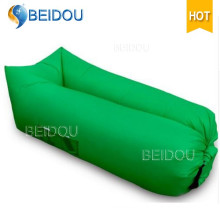 Popular Nylon Hammock Single Mouth Inflatable Air Sofa Sleeping Bed