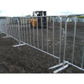 Customized metal crowd control barrier