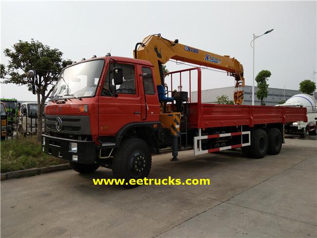 Dongfeng 10T Hydraulic Crane Trucks