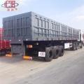 Remolque de camión de caja de transporte de carga