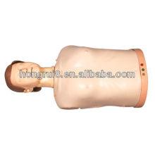 Manequim de Treinamento de CPR semi-corporal educacional avançado médico