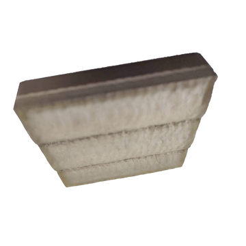 Placa revestida de carboneto de tungstênio