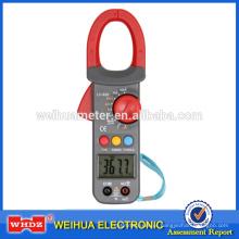 Medidor Digital de Braçadeira com Capacitância Backlight Campainha Temperatura Temperatura de Retenção de Dados Ciclo de Trabalho Faixa de Frequência Automática WH826