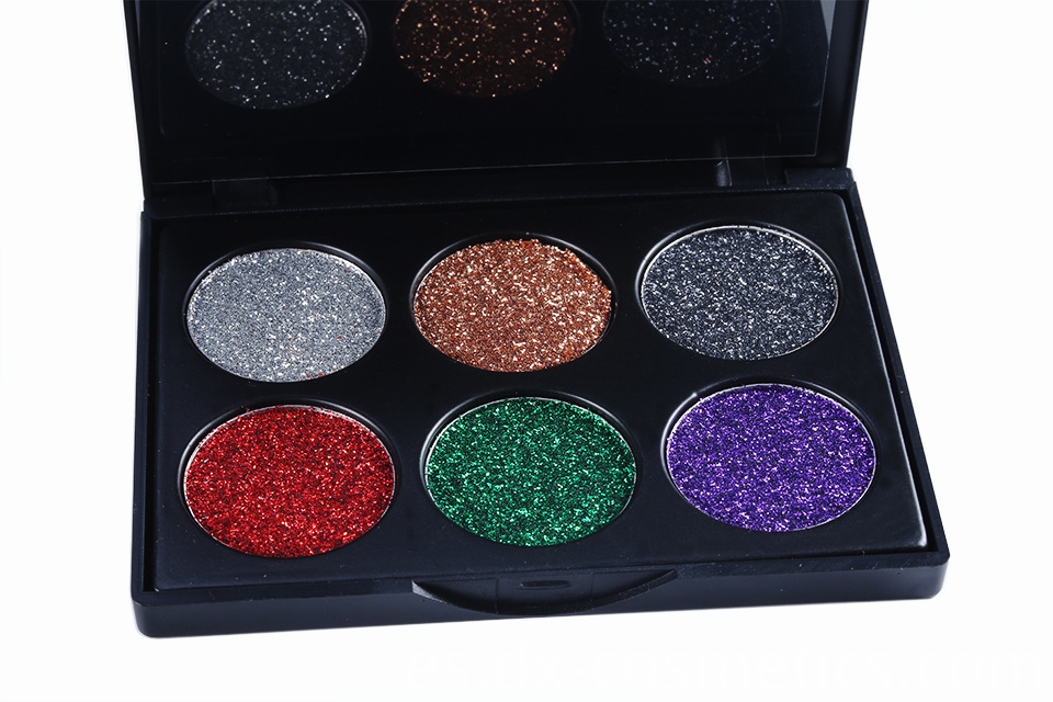 6 Colors beauty Gligger Eye Shadow 16