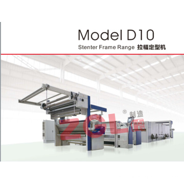 Machine conçue par Européen de Stenter de structure pour le tissu tissé