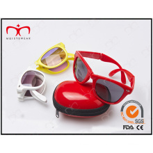 Sunglasses for Unisex with Case Foldable and Fashionable (20198)