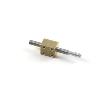 5 mm Gewindespindel mit Vierkantmutter und Vierkantmutter