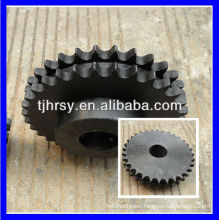 Steel Duplex chain wheel for 12A-2 roller chain