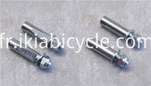 Cotter Pin with Bike Parts