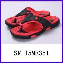 Zapatillas ligeras funcionales de los deslizadores de los hombres sandalias de las sandalias del eva del pvc sandalias del eva de los hombres