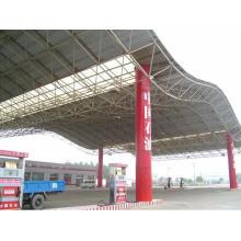 Стационарная автозаправочная станция Стальная крыша