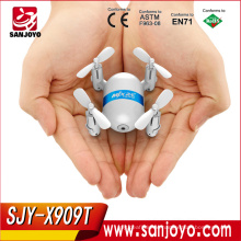 MJX NEW PRODUCT X909T! 5.8G FPV micro quadcopter drone 2.4G 4CH RC UAV with HD camera for aerial photography