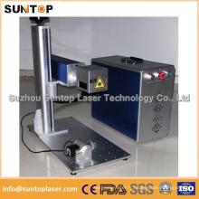 Machine de marquage au laser en fibre de métal pour bijoux / boucles d'oreilles Machine de marquage au laser
