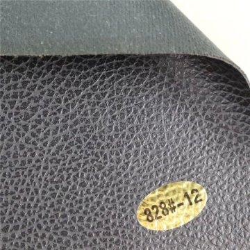Couro colado artificial do PVC de Anti-Tearable para o sofá (828 #)
