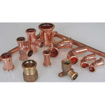 Copper Press Fitting (M001) Copper Pipe for Water and Gas