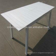 Table de polywood d'extension