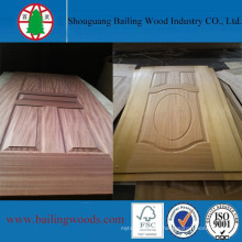 Wood Veneer HDF Door Skin From China Factory