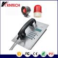 Edelstahl-Metall-Knopf Telefon Knzd-07A Notruf-Telefon