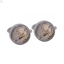 Neue Stil umweltfreundliche Kupfer benutzerdefinierte Uhrwerk Manschettenknopf