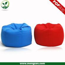 Column soft bean bag ottoman chair, living room smooth bean bag chair