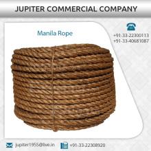 La mejor calidad Manila cuerda utilizada en diversas industrias, artesanías, muebles, colgantes   A bajo precio