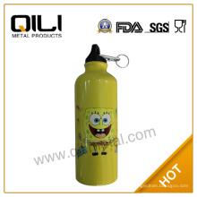 Acero inoxidable por mayor de viaje personalizadas botellas de agua